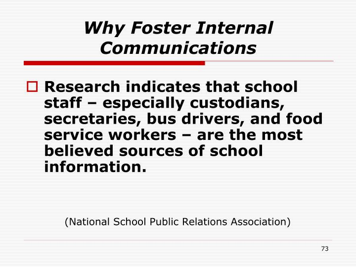 Why Foster Internal Communications