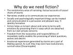 why do we need fiction