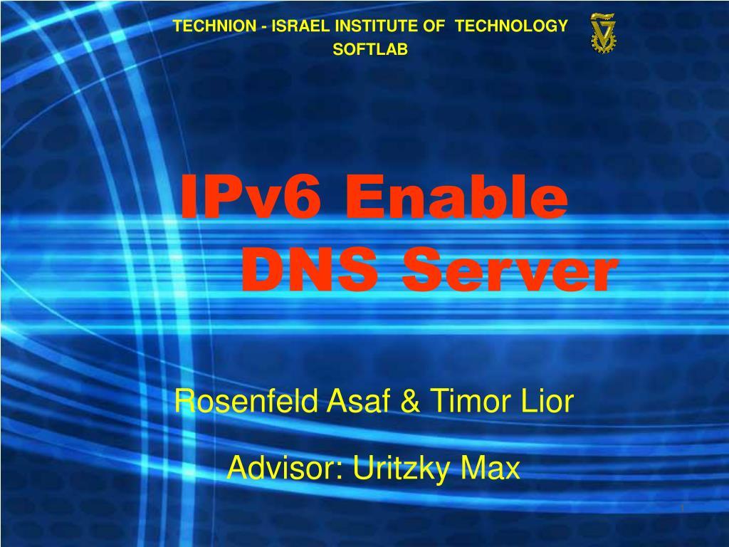 ipv6 enable dns server l.
