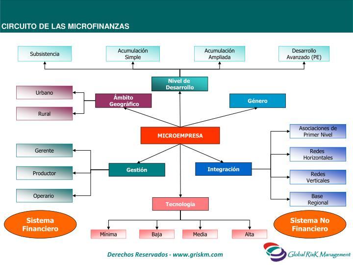 Circuito de las microfinanzas