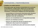 conclusiones y recomendaciones38