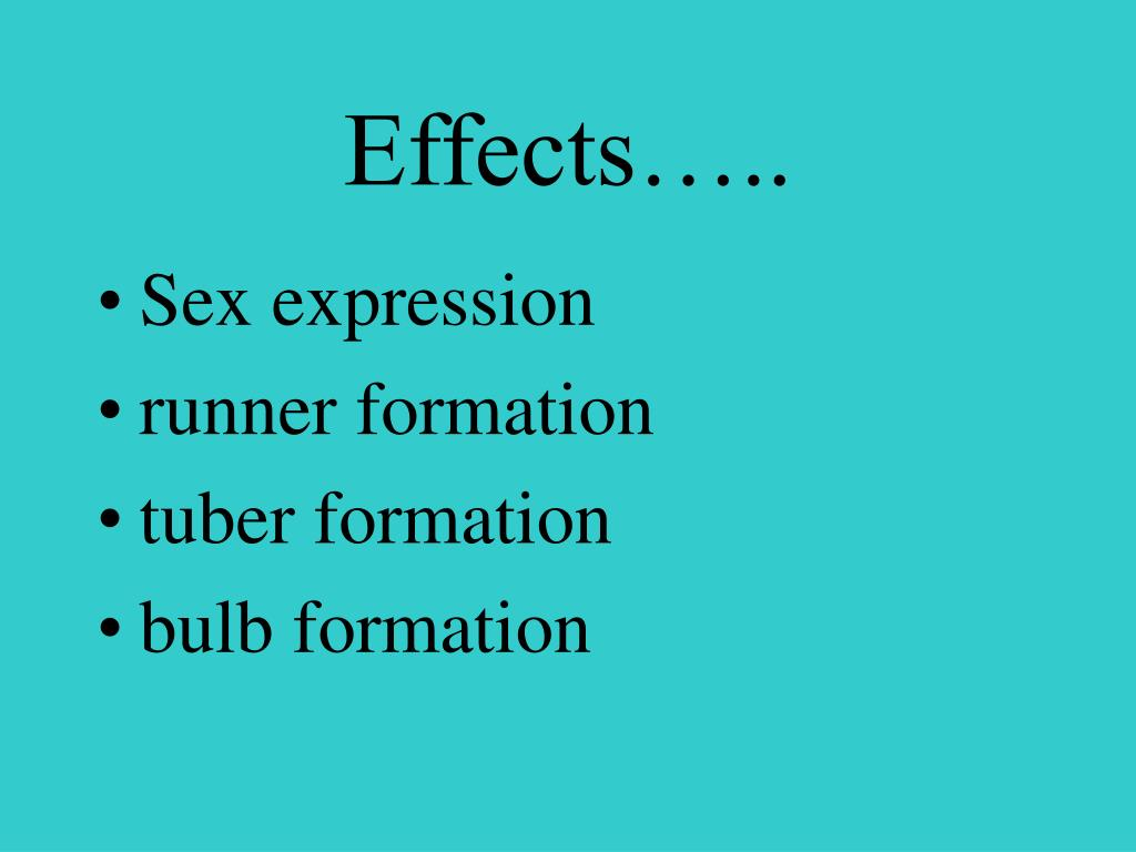 Effects…..