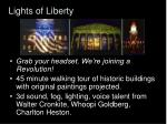 lights of liberty