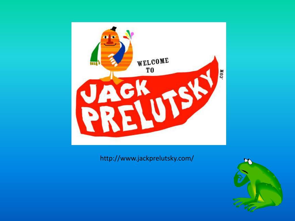 http://www.jackprelutsky.com/