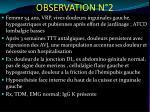 observation n 2