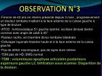 observation n 31