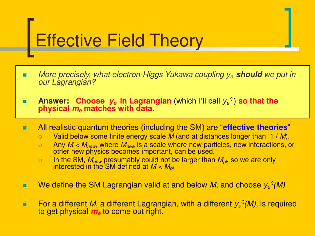 Effective Field Theory