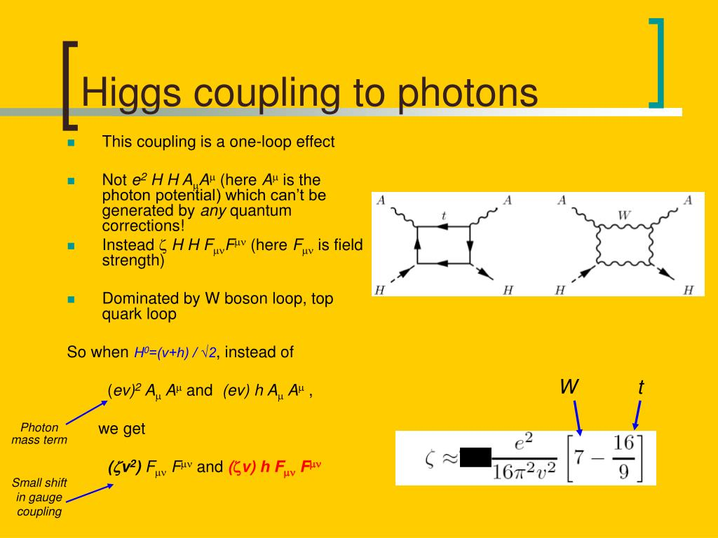 Higgs coupling to photons