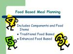 food based meal planning