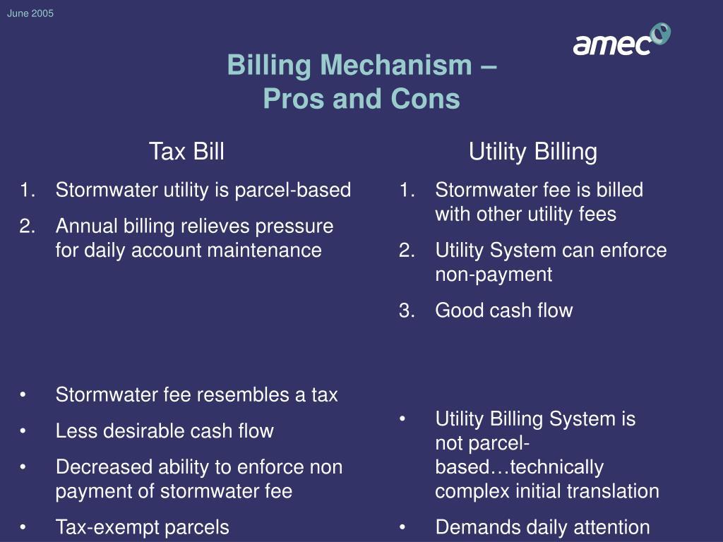 Billing Mechanism –