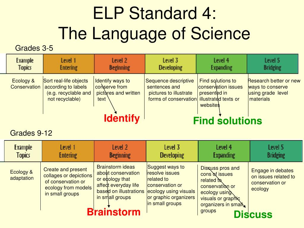 ELP Standard 4: