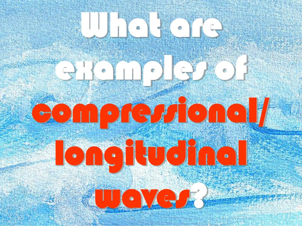 What are examples of
