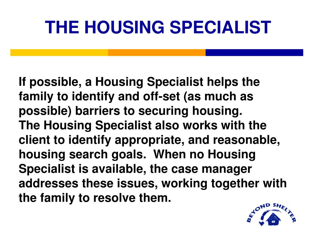 THE HOUSING SPECIALIST