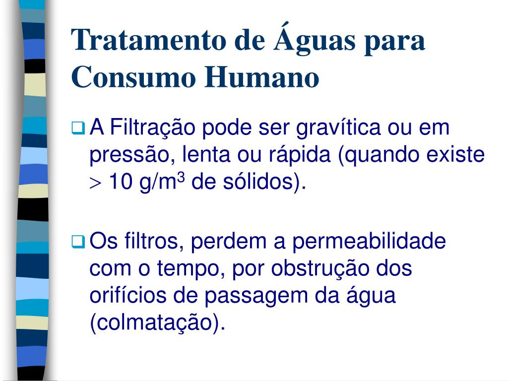 Tratamento de Águas para Consumo Humano