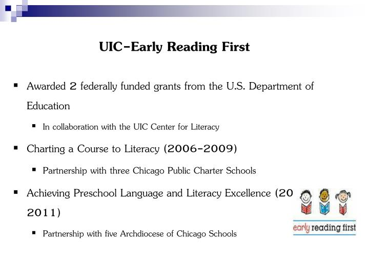 Uic early reading first