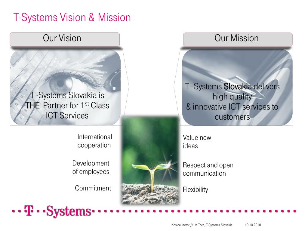 T-Systems Vision