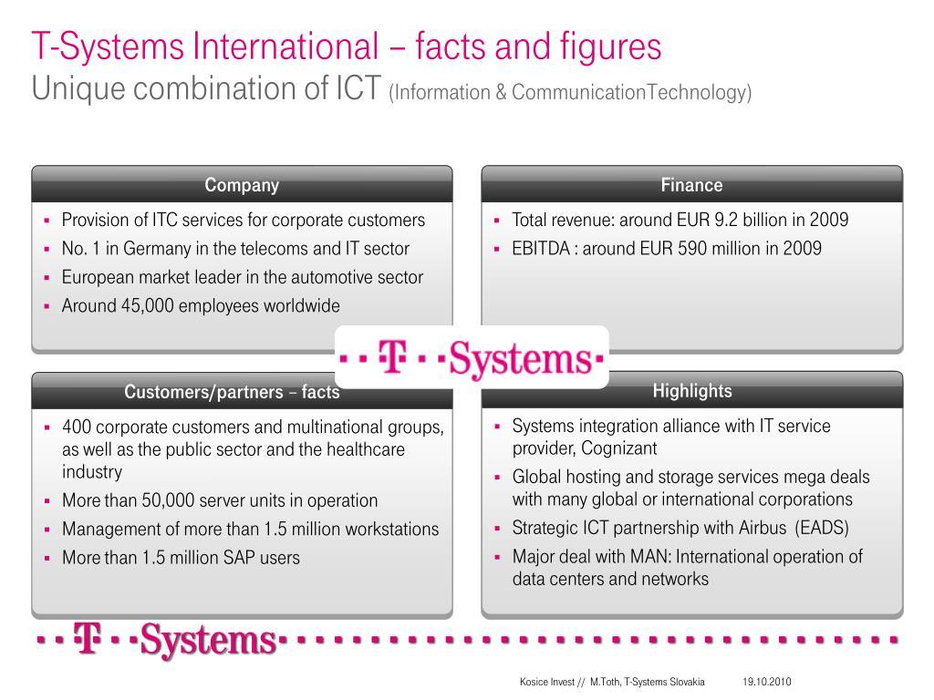 T-Systems International –