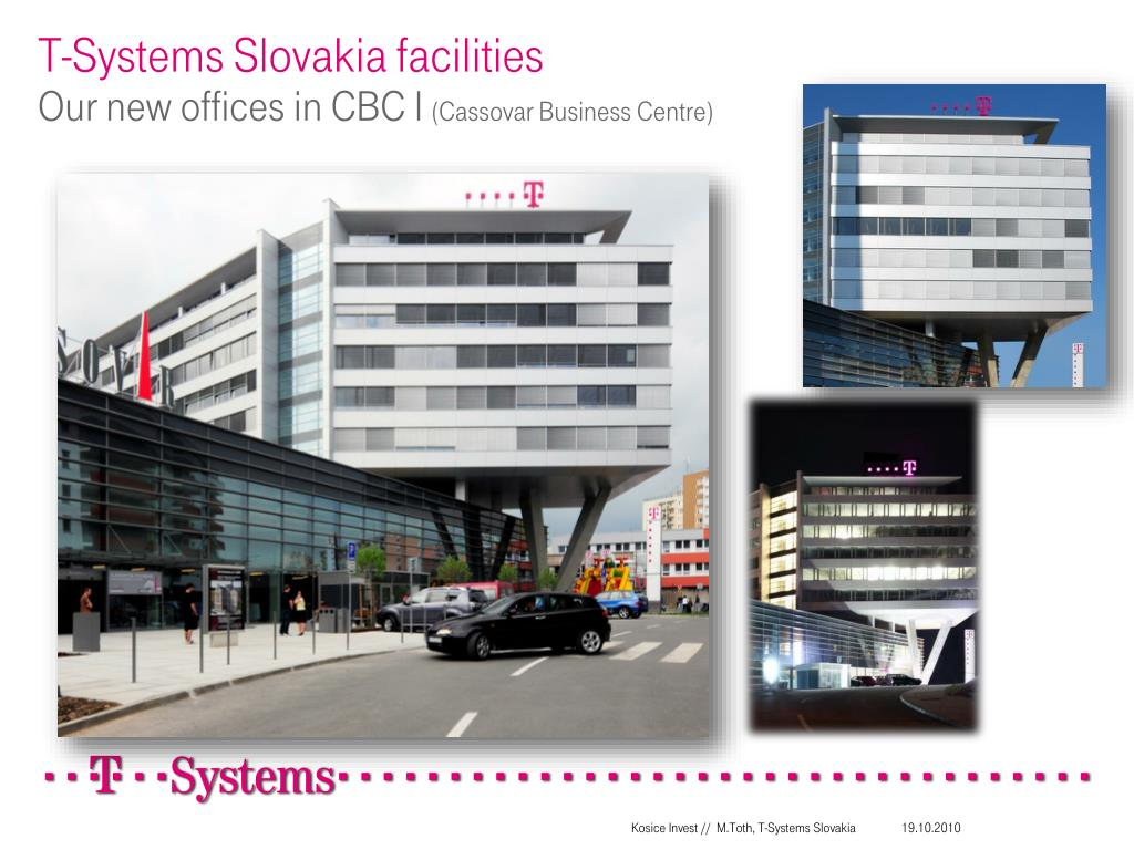 T-Systems Slovakia facilities