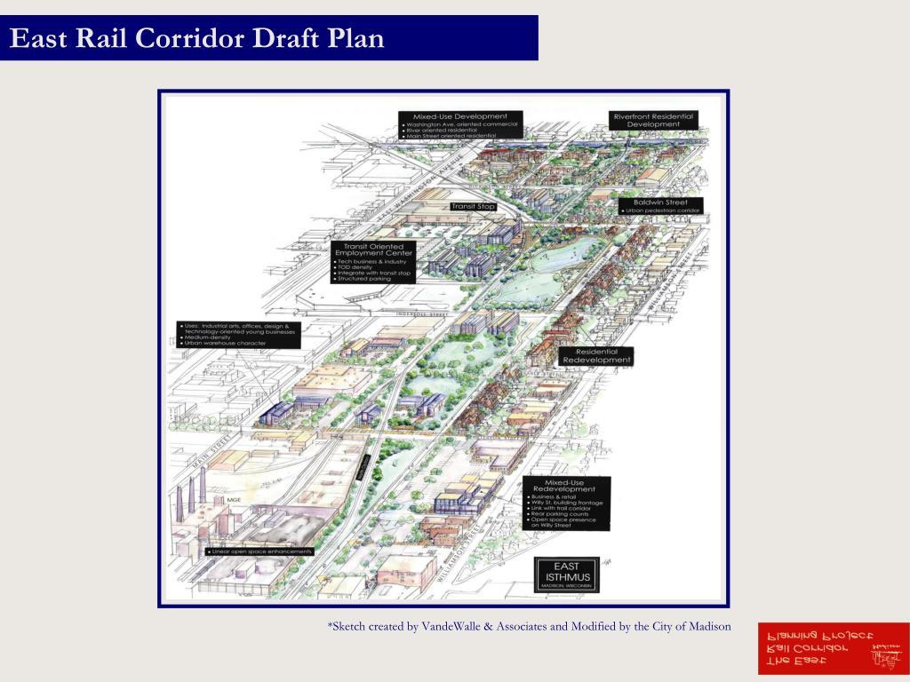 East Rail Corridor Draft Plan