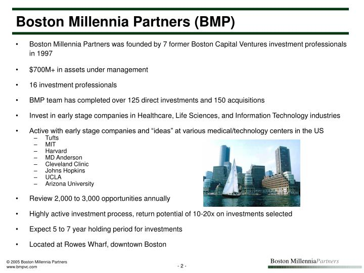 Boston Millennia Partners (BMP)