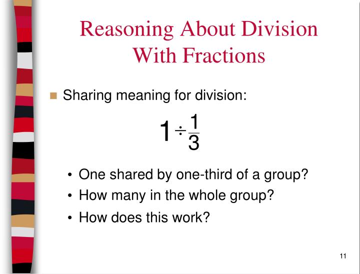 Reasoning About Division
