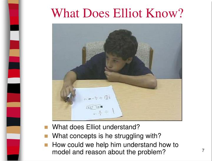 What Does Elliot Know?