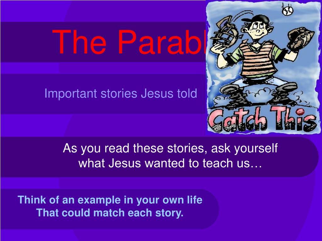 the parables l.