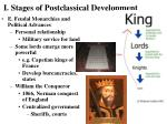 i stages of postclassical development13