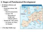 i stages of postclassical development19
