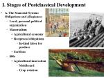 i stages of postclassical development6