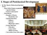 i stages of postclassical development7