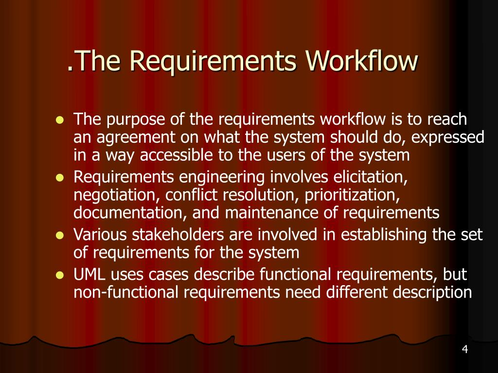 .The Requirements Workflow