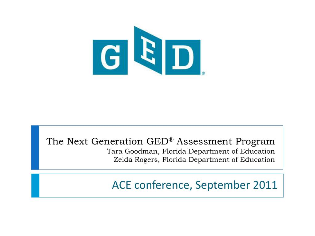 The Next Generation GED