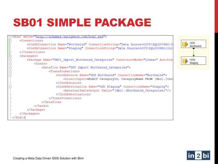 SB01 Simple Package