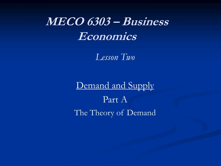 meco 6303 business economics n.