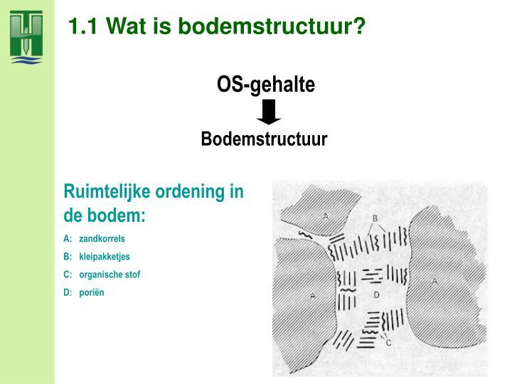 1.1 Wat is bodemstructuur?