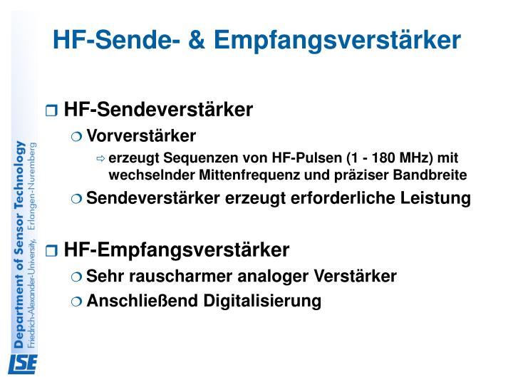 HF-Sende- & Empfangsverstärker