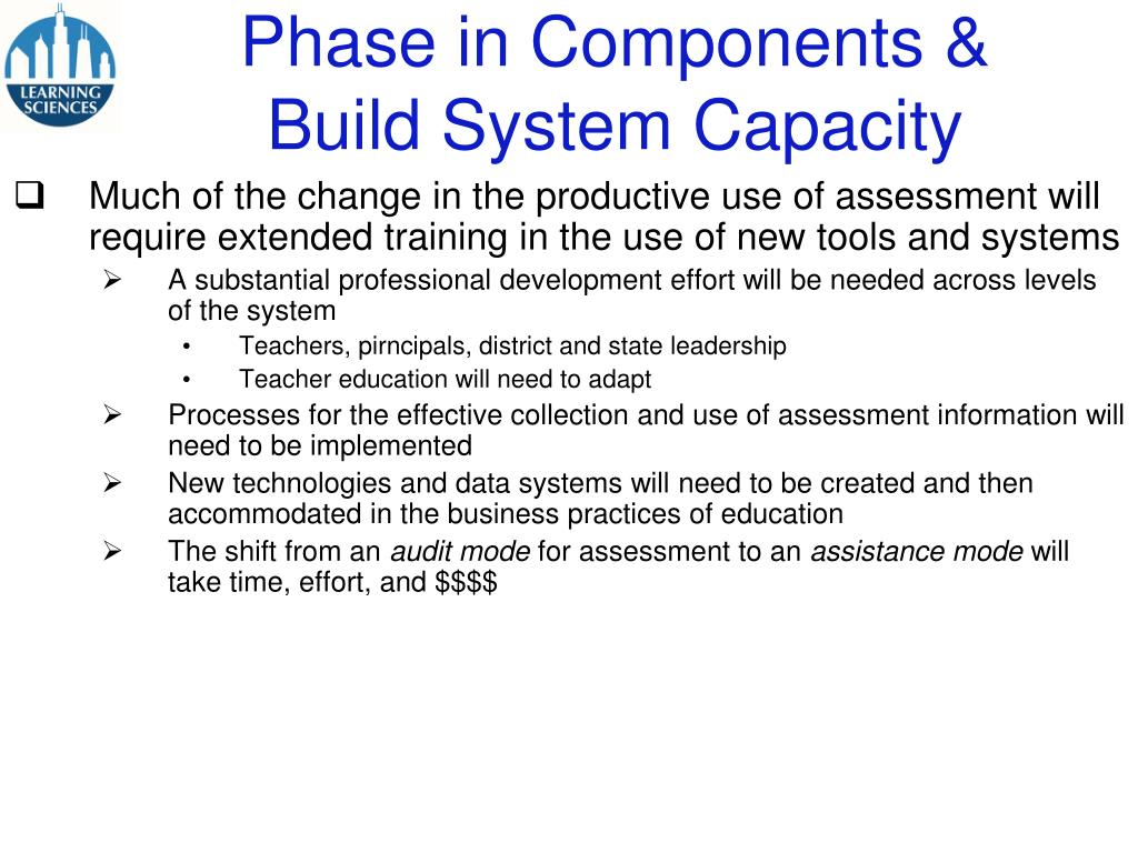 Phase in Components &