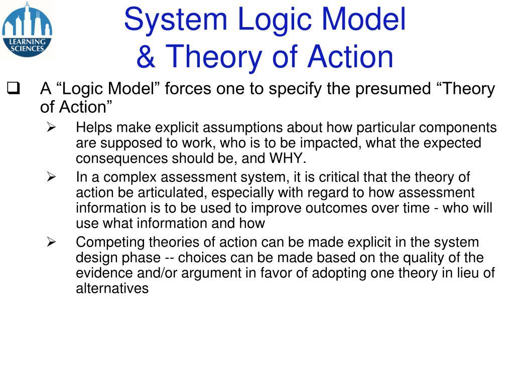 System Logic Model