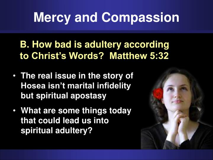Mercy and Compassion