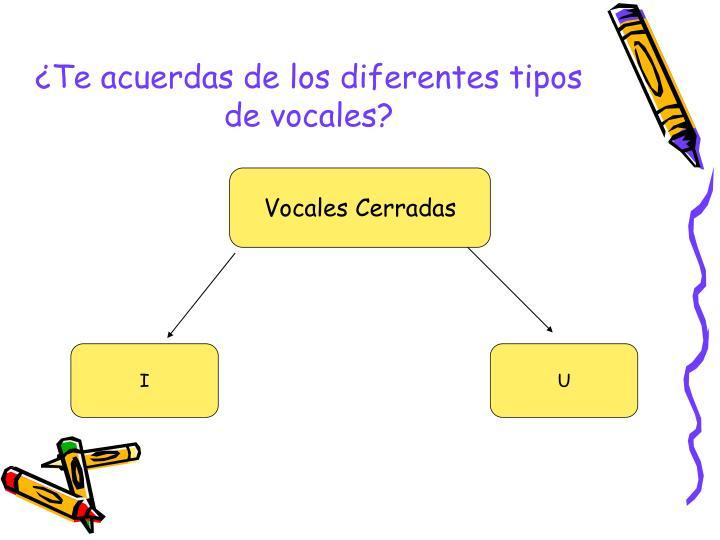 Te acuerdas de los diferentes tipos de vocales1