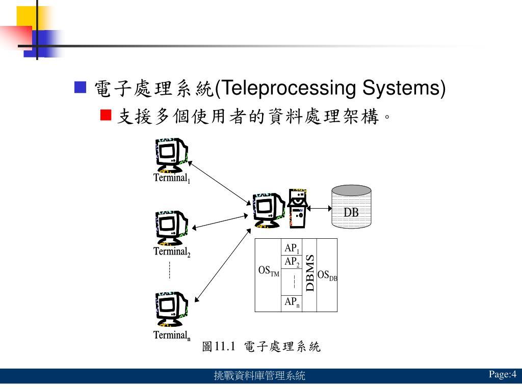 電子處理系統
