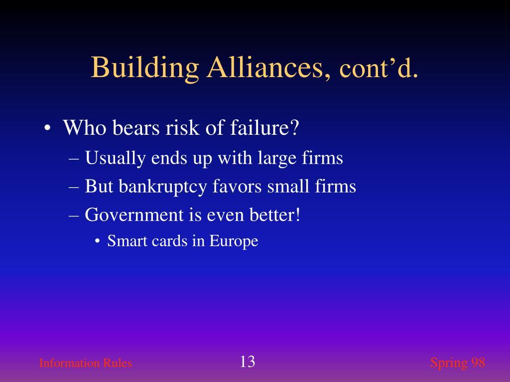 Building Alliances,
