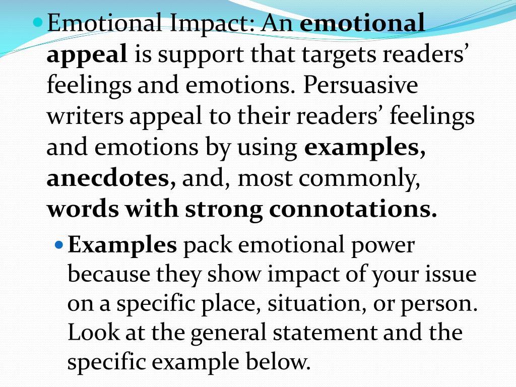 Emotional Impact: An