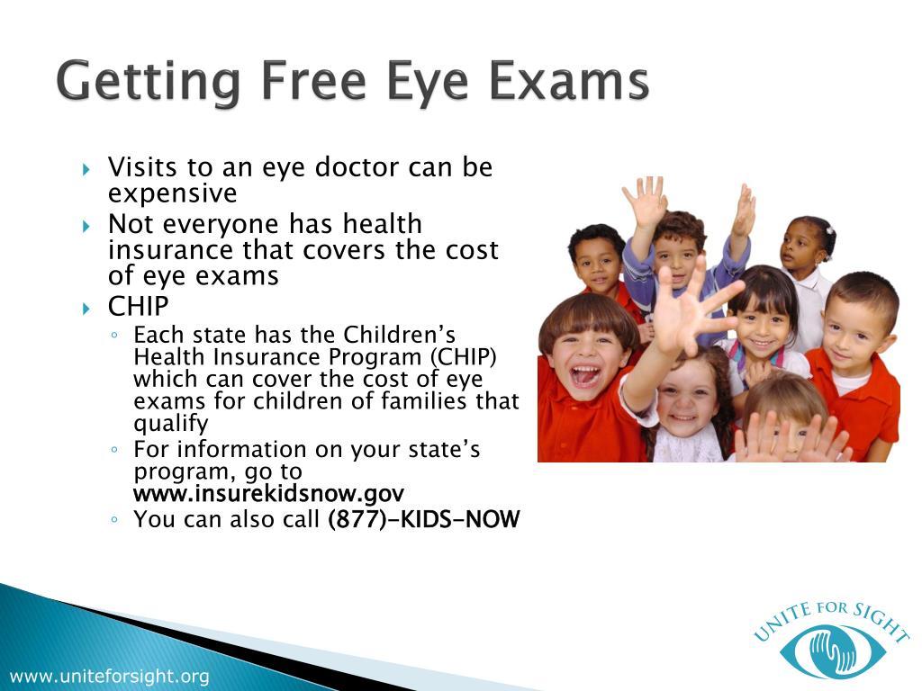 Getting Free Eye Exams