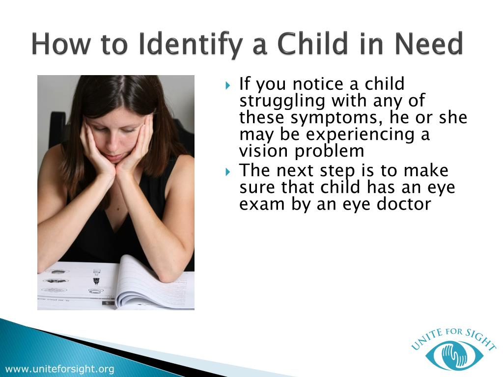 How to Identify a Child in Need