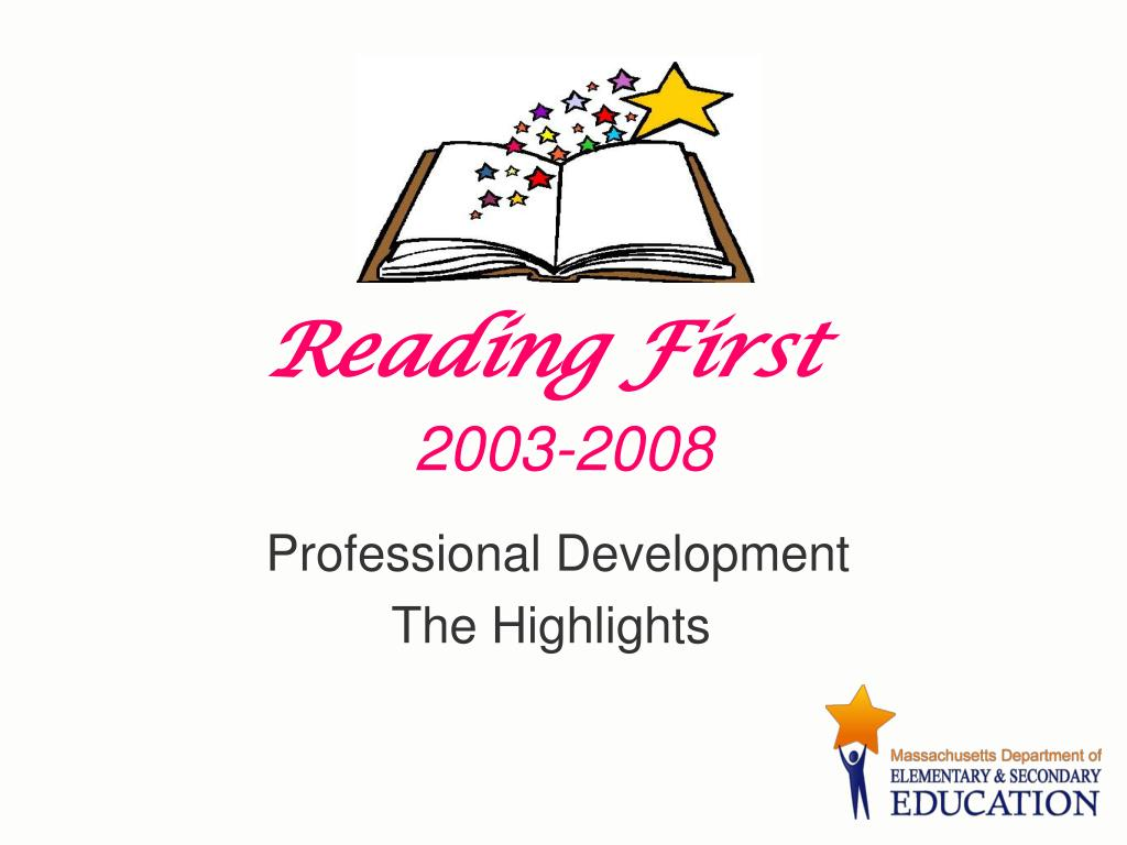 reading first 2003 2008 l.