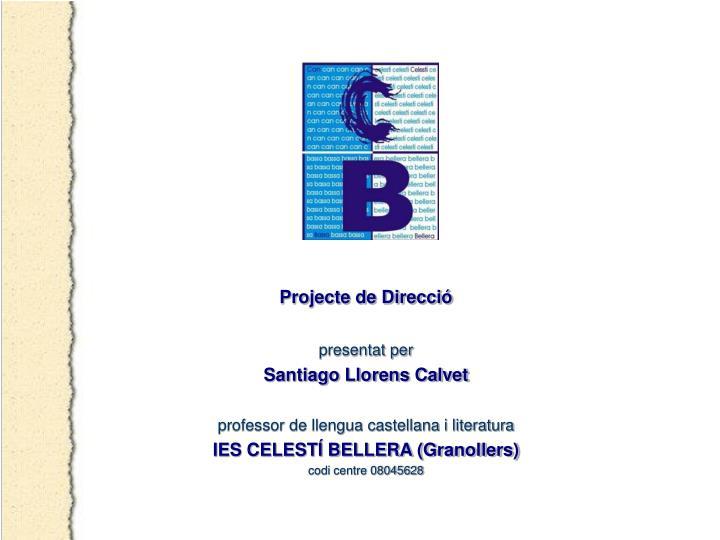 Projecte de Direcció