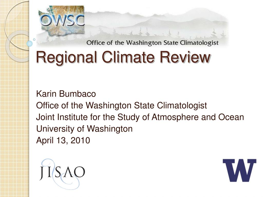 regional climate review l.