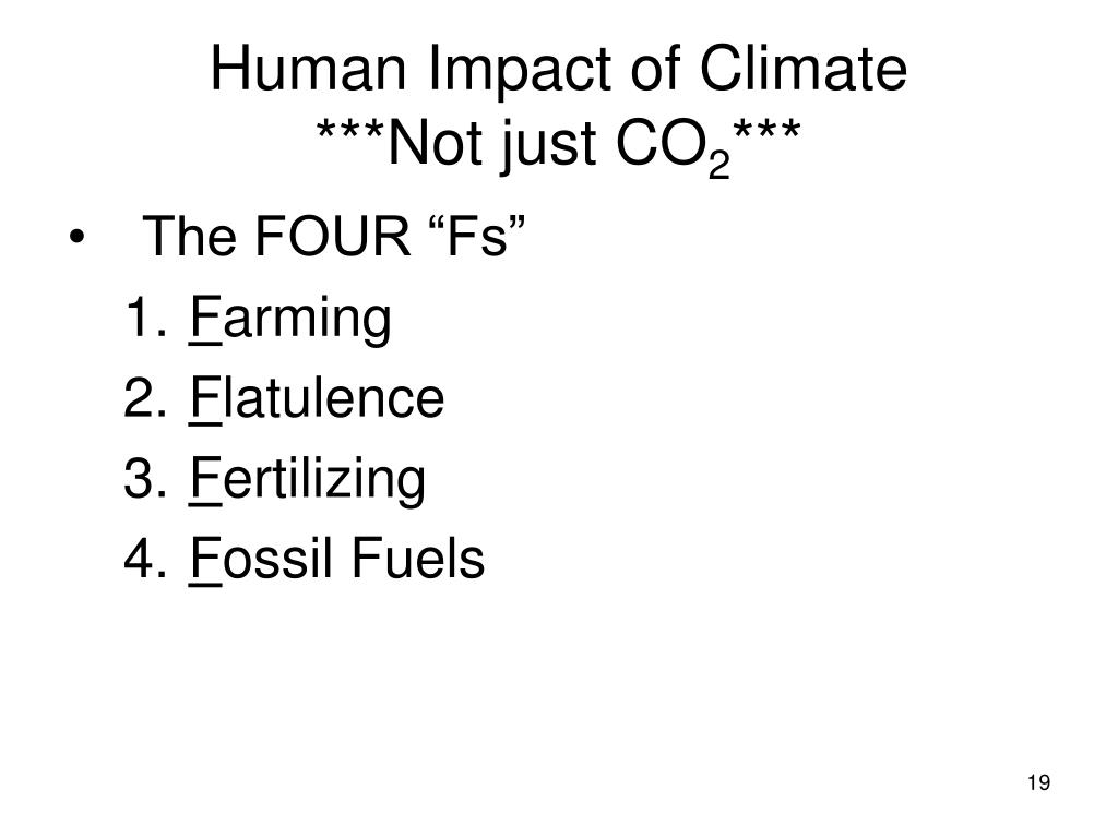 Human Impact of Climate